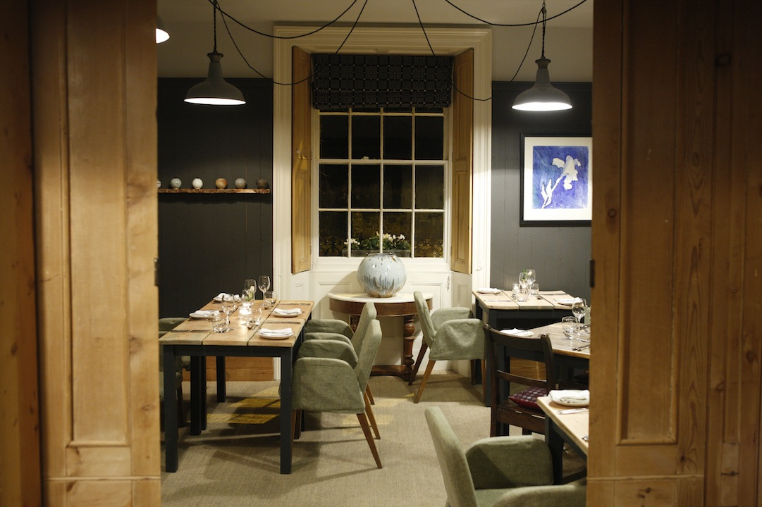13a37758db72 Then it was on to eat in the restaurant upstairs amongst rustic wooden  dining tables and Welsh art-works choosing from a menu that s fresh